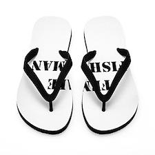 female fisherwoman Flip Flops