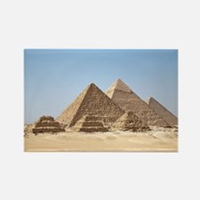 Funny Pyramids giza Rectangle Magnet