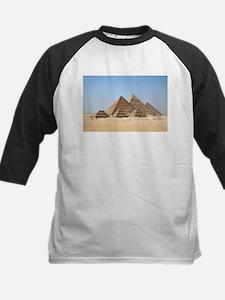 Pyramids at Giza Egypt Baseball Jersey
