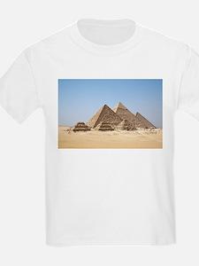 Pyramids at Giza Egypt T-Shirt