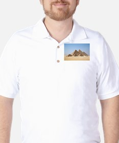 Pyramids at Giza Egypt T-Shirt