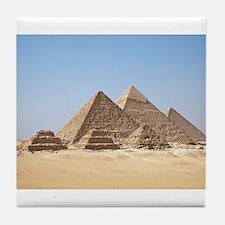 Pyramids at Giza Egypt Tile Coaster