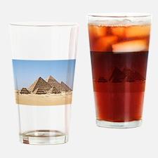 Pyramids at Giza Egypt Drinking Glass