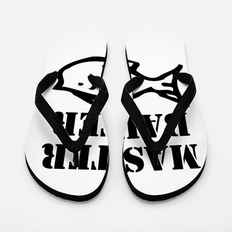 master baiter Flip Flops
