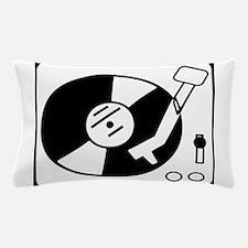 dj turntable design Pillow Case