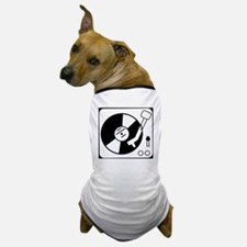 dj turntable design Dog T-Shirt