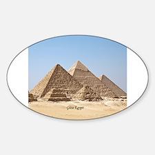 Pyramids at Giza Egypt Decal