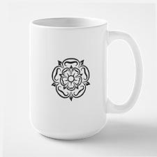 rose of yorkshire lancashire Mugs