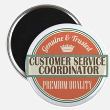 customer service coordinator vintage logo Magnet