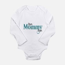 Marathon mom Long Sleeve Infant Bodysuit