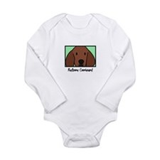 Unique dog lovers Long Sleeve Infant Bodysuit