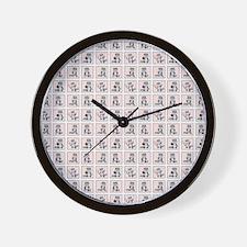 SPORTY RACCOON Wall Clock