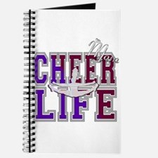 Purple and Red Cheer Mom Journal