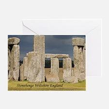 Unique Stone henge Greeting Card