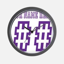Game Day Wall Clock