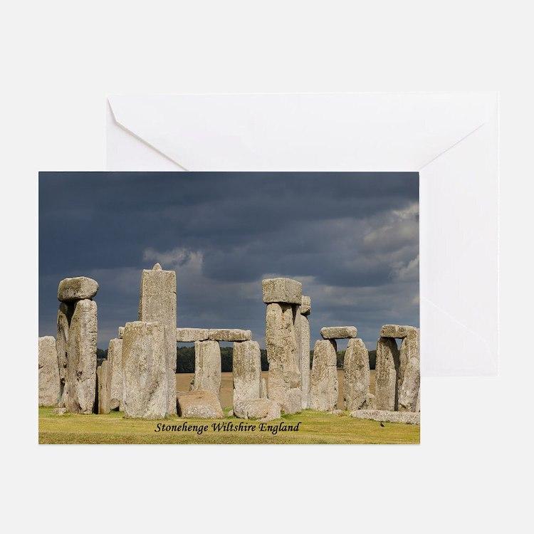 Cute Stone henge Greeting Card