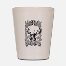 Manly Deer Shot Glass