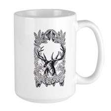 Manly Deer Mugs