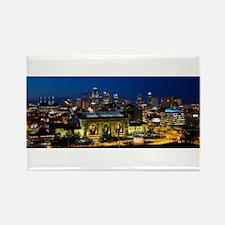 Kansas City Skyline Magnets