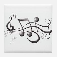 Music 2 Tile Coaster