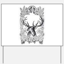 Manly Deer Yard Sign