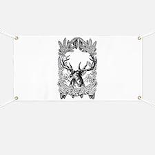Manly Deer Banner