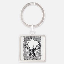 Manly Deer Keychains