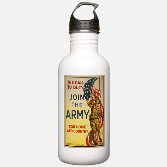 WWI Join the Call to D Water Bottle