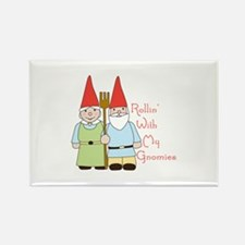 Rollin Gnomes Magnets