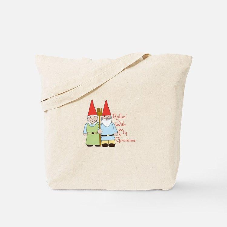Rollin Gnomes Tote Bag