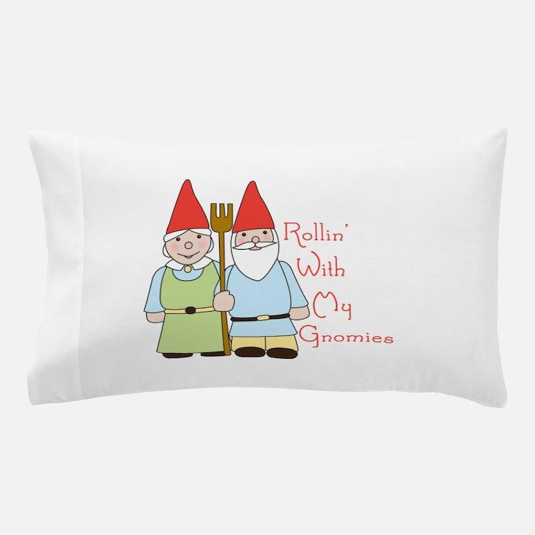 Rollin Gnomes Pillow Case