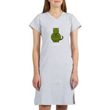 Cute Dinosaur Women's Nightshirt