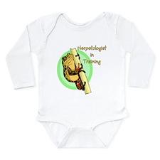 Cute Kids frog Long Sleeve Infant Bodysuit