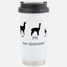 Unique Llama Travel Mug