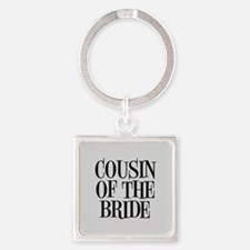 Cousin of the Bride Keychains