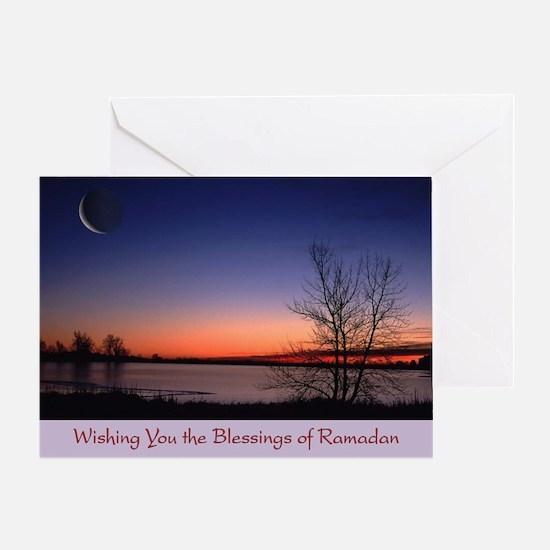 Wishing You the Blessings of Ramadan Greeting Card