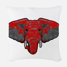 Crimson Tide Takeover Woven Throw Pillow