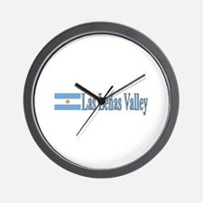Las Lenas Valley, Argentina Wall Clock