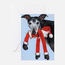 Unique Greyhound Greeting Cards (Pk of 10)