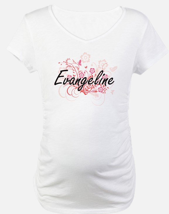 Evangeline Artistic Name Design Shirt