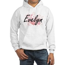 Evelyn Artistic Name Design with Hoodie