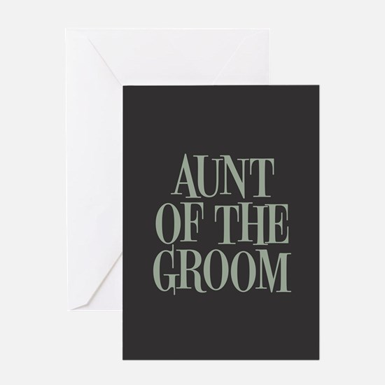 Aunt of the Groom Greeting Cards