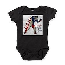 Funny Boxing Baby Bodysuit