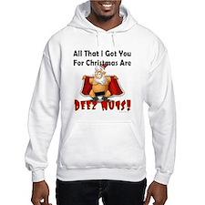 Santa Deez Nuts Hoodie