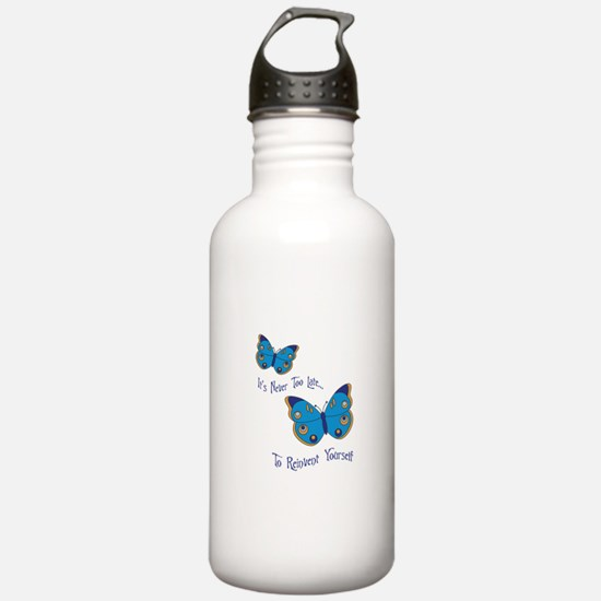 Reinvent Yourself Water Bottle