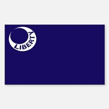 Fort Moultrie Liberty Flag Decal