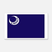 Fort Moultrie Liberty Flag Rectangle Car Magnet