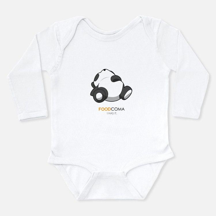 Cute Coma Long Sleeve Infant Bodysuit