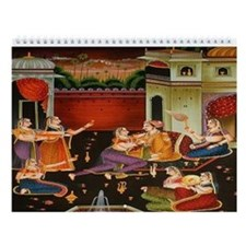 Indian Art Wall Calendar (12 Designs)