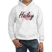 Hailey Artistic Name Design with Jumper Hoody